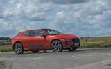 Jaguar I-Pace 2019 long-term test review - on the road front