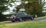 Mercedes E300de 2019 long-term review - on the road rear