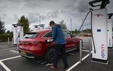 Mercedes-Benz EQC 2020 long-term review - Jim Holder charging