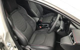 Toyota Corolla 2019 long-term review - front seats
