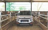 Citroen Berlingo 2019 long-term review - cowshed nose