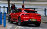 Jaguar I-Pace 2019 long-term test review - on the road rear