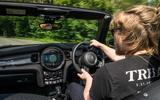 16 Mini Convertible 2021 long term KC driving