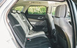 Range Rover Velar 2019 long-term review - rear seats