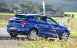 Seat Leon TSI 2021 long-term review - cornering rear