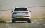 17 Bentley Bentayga V8 2021 long term review on road rear