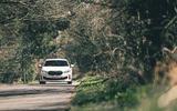 17 BMW 128ti 2021 LT hero on road front