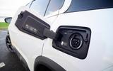 17 Citroen C5 Aircross Hybrid 2021 Long term review charging port