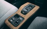 Honda e 2020 long-term review - centre console