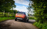 Land Rover Discovery Sport 2020 long-term review - cornering rear
