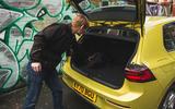 17 Volkswagen Golf 2021 long term review boot