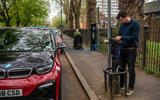 BMW i3S 2019 long-term review - Polar charging point
