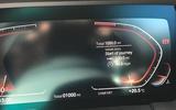 BMW Z4 2019 long-term review - trip computer