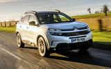 18 Citroen C5 Aircross Hybrid 2021 Long term review on road front