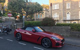 BMW Z4 2019 long-term review - parked up