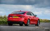 Audi S5 Sportback 2020 long-term review - hero rear