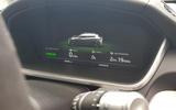 Jaguar I-Pace 2019 long-term test review - charging indicator