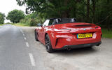 BMW Z4 2019 long-term review - Goodwood rear