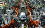 Mini 5-door Cooper S 2019 long-term review - mini factory - robots
