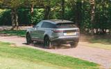 Range Rover Velar 2019 long-term review - on the road rear
