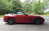 BMW Z4 2019 long-term review - Goodwood side