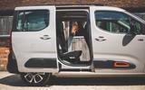 Citroen Berlingo 2019 long-term review - side doors open