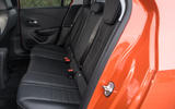 Vauxhall Corsa 2020 long-term review - rear seats