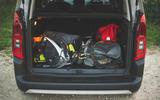 Citroen Berlingo 2019 long-term review - camping boot full