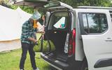 Citroen Berlingo 2019 long-term review - camping unloading