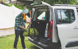Citroen Berlingo 2019 long-term review - camping unloading