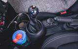 Mini 5-door Cooper S 2019 long-term review - centre console cups