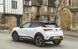 24 Vauxhall Mokka 2021 long term on road rear
