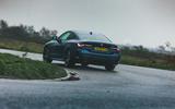 25 BMW 4 Series 2021 long term review cornering rear