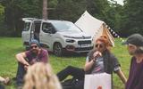 Citroen Berlingo 2019 long-term review - camping tent
