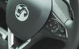 27 Vauxhall Mokka 2021 long term steering wheel buttons