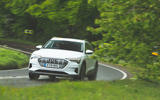 Audi E-tron 2019 long-term review - cornering front