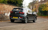 MG ZS EV 2020 long-term review - hero rear