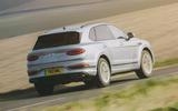 3 Bentley Bentayga V8 2021 long term review hero rear