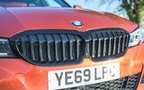 BMW 3 Series 330e 2020 long-term review - nose