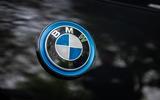 BMW i3S 2019 long-term review - bonnet badge