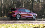 Ford Focus 2019 long-term review - on the road rear