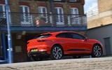 Jaguar I-Pace 2019 long-term test review - hero rear