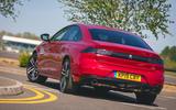 Peugeot 508 2019 long-term review - hero rear