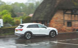 Audi E-tron 2019 long-term review - on the road side