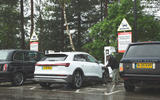 Audi E-tron 2019 long-term review - ecotricity charger