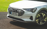 Audi E-tron 2019 long-term review - front end