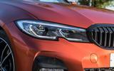 BMW 3 Series 330e 2020 long-term review - headlights