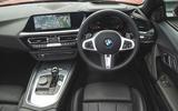 BMW Z4 2019 long-term review - dashboard