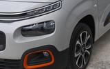 Citroen Berlingo 2019 long-term review - front lights