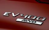 Jaguar I-Pace 2019 long-term test review - EV 400 badge